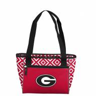 Georgia Bulldogs Double Diamond Cooler Tote