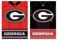 Georgia Bulldogs Double Sided Jersey Flag