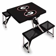 Georgia Bulldogs Folding Picnic Table