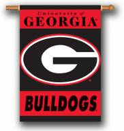 "Georgia Bulldogs G Premium 28"" x 40"" Two-Sided Banner"