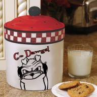 Georgia Bulldogs Gameday Cookie Jar