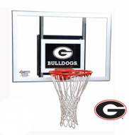 Georgia Bulldogs Goalsetter Junior Wall Mount Basketball Hoop
