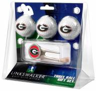 Georgia Bulldogs Golf Ball Gift Pack with Cap Tool
