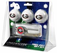 Georgia Bulldogs Golf Ball Gift Pack with Kool Tool