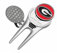 Georgia Bulldogs Golf Cap Divot Tool