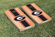 Georgia Bulldogs Hardcourt Stripe Cornhole Game Set