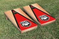 Georgia Bulldogs Hardcourt Triangle II Cornhole Game Set