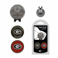 Georgia Bulldogs Hat Clip & Marker Set
