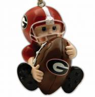 Georgia Bulldogs Lil Fan Ornament
