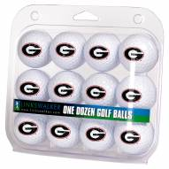 Georgia Bulldogs Dozen Golf Balls
