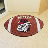 Georgia Bulldogs Logo Football Floor Mat