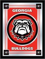 Georgia Bulldogs Logo Mirror