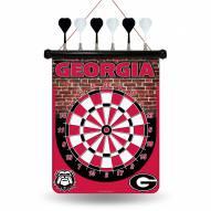 Georgia Bulldogs Magnetic Dart Board