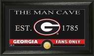 Georgia Bulldogs Man Cave Bronze Coin Panoramic Photo Mint