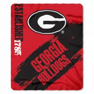 Georgia Bulldogs Mark Fleece Blanket
