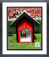 Georgia Bulldogs Mascot 2008 Framed Photo