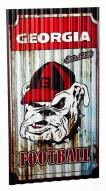 Georgia Bulldogs Metal Wall Art