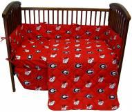 Georgia Bulldogs NCAA Baby Crib Set