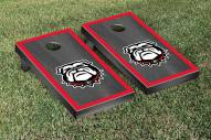 Georgia Bulldogs Onyx Stained Cornhole Game Set