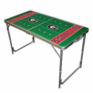 Georgia Bulldogs Outdoor Folding Table