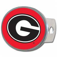Georgia Bulldogs Oval Hitch Cover