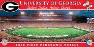 Georgia Bulldogs Panoramic Stadium Puzzle