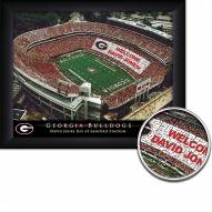 Georgia Bulldogs Personalized Framed Stadium Print