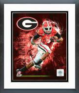 Georgia Bulldogs Player Composite Framed Photo