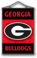 "Georgia Bulldogs Premium 28"" x 40"" Indoor Banner Scroll"
