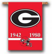 "Georgia Bulldogs Premium Championship Year 28"" x 40"" Two-Sided Banner"