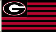 Georgia Bulldogs Premium Striped 3' x 5' Flag