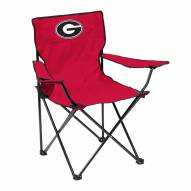 Georgia Bulldogs Quad Folding Chair