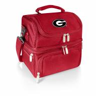 Georgia Bulldogs Red Pranzo Insulated Lunch Box