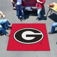 Georgia Bulldogs Red Tailgate Mat