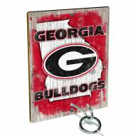 Georgia Bulldogs Ring Toss Game
