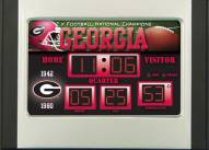 Georgia Bulldogs Scoreboard Desk Clock