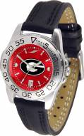 Georgia Bulldogs Sport AnoChrome Women's Watch