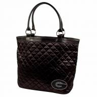 Georgia Bulldogs Sport Noir Quilted Tote