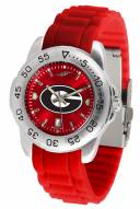 Georgia Bulldogs Sport Silicone Men's Watch