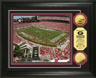 Georgia Bulldogs Stadium 24KT Gold Coin Photomint