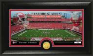 Georgia Bulldogs Stadium Bronze Coin Panoramic Photo Mint