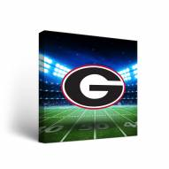 Georgia Bulldogs Stadium Canvas Wall Art