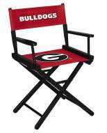 Georgia Bulldogs Table Height Director's Chair