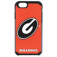 Georgia Bulldogs Team Color Football True Grip iPhone 6/6s Case