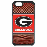 Georgia Bulldogs Team Color Pebble Grain iPhone 6/6s Case