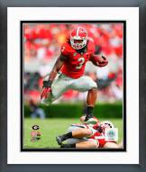 Georgia Bulldogs Todd Gurley 2014 Action Framed Photo