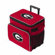 Georgia Bulldogs Tracker Rolling Cooler