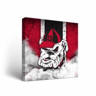 Georgia Bulldogs Vintage 2 Canvas Wall Art