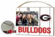 Georgia Bulldogs Weathered Logo Photo Frame