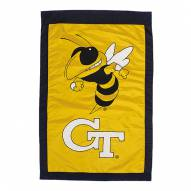 "Georgia Tech Yellow Jackets 28"" x 44"" Double Sided Applique Flag"